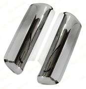 Qsc Chrome Replacement Door Mirrors Covers Right Left Pair For Peterbilt 579