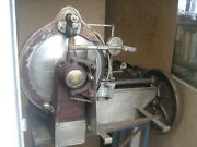 Antique, Hand Crank Deli Meat Slicer, Made By American Eagle, Patent Date 1921