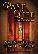 Past Life Oracle Cards 44-card Deck And Guidebook - Doreen Virtue Discontinuedandnbsp