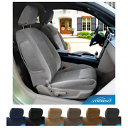 Seat Covers Velour For Cadillac Escalade Coverking Custom Fit