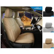 Seat Covers Genuine Leather For Toyota Land Cruiser Custom Fit