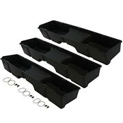 3 Underseat Storage Boxes 1999-2006 Fits Chevy/gmc Silverado/sierra Extended Cab