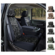 Seat Covers Digital Military Camo For Toyota Land Cruiser Custom Fit