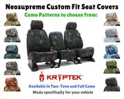 Seat Covers Kryptek Camo For Chevy Suburban Coverking Custom Fit