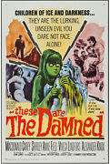 These Are The Damned Orig One Sheet Movie Poster Shirley Anne Field/oliver Reed