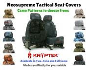 Seat Covers Kryptek Tactical Neosupreme For Chevy Avalanche Custom Fit