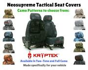 Seat Covers Kryptek Tactical Neosupreme For Nissan Pathfinder Custom Fit