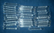 40 Bacardi Select Rum Tooter Shooter Shot Glasses Test Tubes