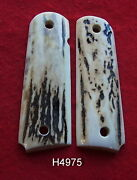 Thicker Pair Of Elk Grips For The Colt 1911 Government And Commander Models