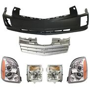 New Auto Body Repairs Set Of 6 Front Cadillac Srx 2006-2009