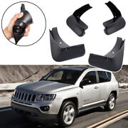 4x Car Mud Flaps Splash Guards Mudguard For Jeep Compass 2011-2016 12 13 14 15