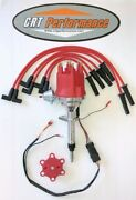 Small Cap Chevy Inline 6 Cylinder 194-235 Red Hei Distributor + Plug Wires - Usa