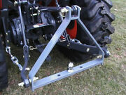 3 Point Tractor Drawbar Trailer Hitch Cat-1 - 25 Wide