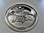 Budweiser Revolving Pocket Watch Sign Clock Embossed Cover