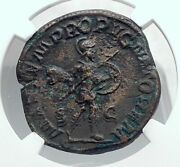 Gordian Iii Authentic Ancient Rome Sestertius Ancient Roman Coin Mars Ngc I81339