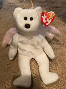 Ty Beanie Baby Halo Rare Brown Nose