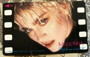 Madonna Phone Cards Ciccone Music Toures 1987 Japan Schedule Telefono Giappon