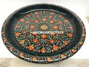 Green Marble Kitchen Fruit Bowl Hakik Floral Inlaid Fine And Free Box Decor H5760