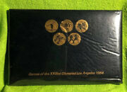 Los Angeles 1984 Olympic Bus Tokens Set Unopened