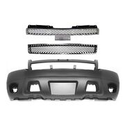 Bumper Cover Kit For 2007-14 Tahoe Models With Tow Hook Hole Front 3pc