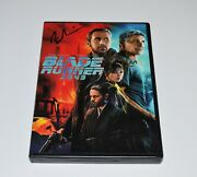 Blade Runner 2049 Dvd Autograph Ryan Gosling And Harrison Ford Signed Rare