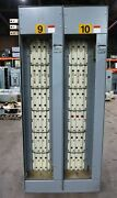 Ge 8000 1200/600 Amp 480v Mcc Motor Control Center 2x Section 1200a 600a 3ph 3w