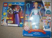 Toy Story 4 Interactive Bo Peep And Giggle Mcdimples + Toy Story Zurg Lego Set