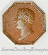 France 1805 33mm Bronze Napoleon I Order Of The Iron Crown Pl Surfaces