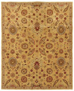 7and039x10and039 Sphinx Floral Gold Flowers Petals 19109 Area Rug - Aprx 7and039 6 X 9and039 6