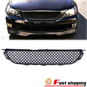 Fits 2001-2005 Lexus Is300 Glossy Black Jdm Diamond Front Grill Hood Mesh Grille