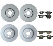 New Genuine Front And Rear Brake Kit Disc Rotors And Pads For Bmw F01 F02 Alpina B7l