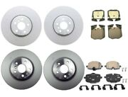 New Genuine Front And Rear Brake Kit Disc Rotors And Pads For Bmw G12 740i 2016 Base