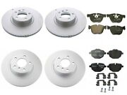 New Genuine Front And Rear Brake Kit Disc Rotors And Pads For Bmw F26 X4 M40i 16-18