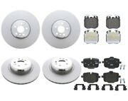 Genuine Front And Rear Brake Kit Disc Rotors Pads For Bmw G12 740i Painted Caliper