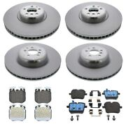 Genuine Front And Rear Brake Kit Disc Rotors And Pads For Bmw G12 M760i Xdrive 2017