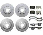 Genuine Front And Rear Brake Kit Disc Rotors Pads Shoes For Bmw F30 F36 Msport Pkg
