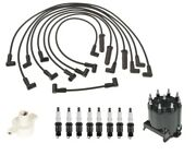 Acdelco Ignition Kit Distributor Rotor Cap Wire Spark Plugs For Buick Oldsmobile