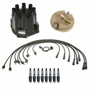 Acdelco Ignition Kit Distributor Rotor Cap Wire Spark Plugs For Buick V8 Gas