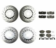 Genuine Front And Rear Brake Kit Drilled Disc Rotors Pads For Bmw F06 F10 F12 F13