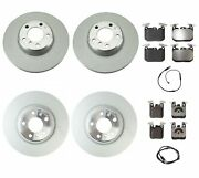 Genuine Front And Rear Brake Kit Disc Rotors Pads Sensors For Bmw F22 F23 M235i