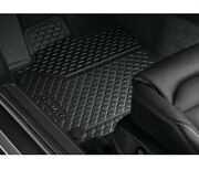 Genuine Front And Rear Rubber Black Floor Mats Set For Vw E-golf Euro Electric