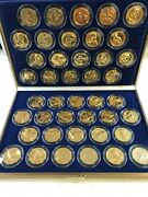 1997official Medals Usaand039s First 42 Presidents 24k Gold Layered