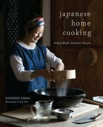 Japanese Home Cooking Simple Meals Authentic Flavors Hardcover By Sakai ...