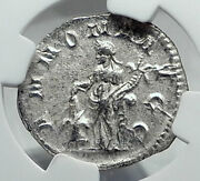 Philip I The Arab Authentic Ancient 244ad Rome Roman Coin W Annona Ngc I81431