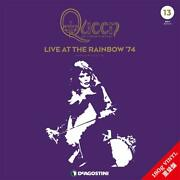 Deagostini Queen Live At The Rainbow `74 Lp Record Collection No.13 New
