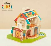Disney Kidea Construction Wood House Mickey Mouse Wooden Toy Collection Japan