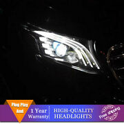 For Benz Metris V206 Headlights Single Lens Beam Projector Hid Led Drl 2016-2020