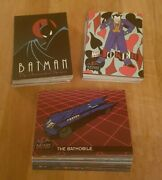 Topps Batman The Animated Series Cards 1993 1 To 100 - Pick From Drop Down List