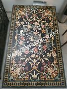 5and039x3and039 Marble Counter Table Tops Pietra Dura Inlay Interior Furniture Decor E542a