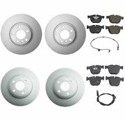 Genuine Front And Rear Brake Kit Disc Rotors Pads And Sensors For Bmw E70 E71 X5 X6